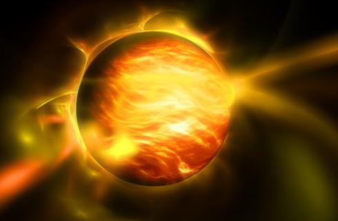 В космосе найдена горячая вода