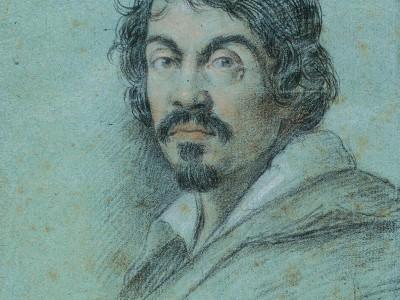 Портрет Караваджо выполненный Оттавио Леони, ок.1610 г.