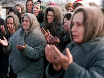 Женщины Чечни