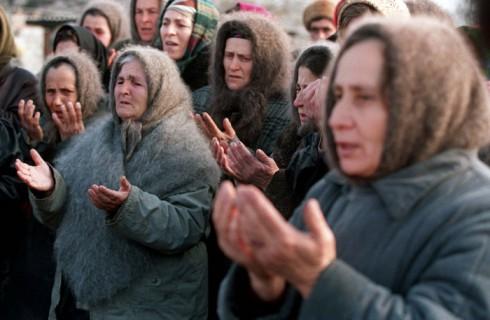 Дань уважения чеченским женщинам