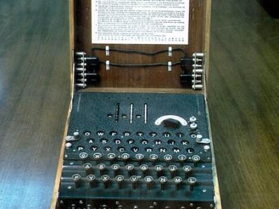 Трёхроторная военная немецкая шифровальная машина Энигма