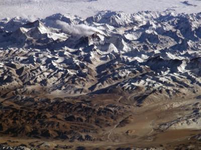 Гималаи с борта МКС