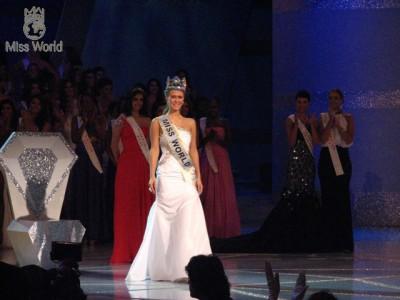 Конкурс «Мисс Мира 2010» — Александриа Миллс