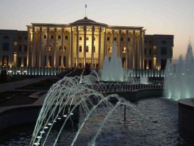 Дворец Наций в Душанбе