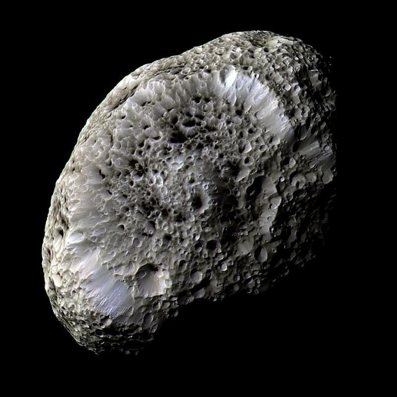 Добыли пыль с метеорита