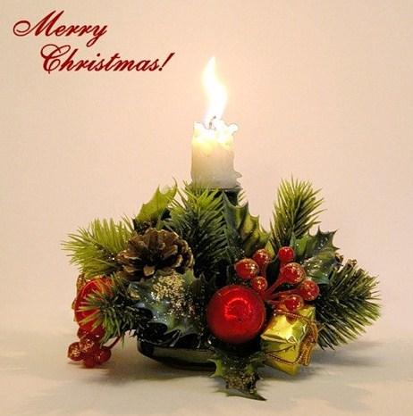 Самая маленькая рождественская открытка