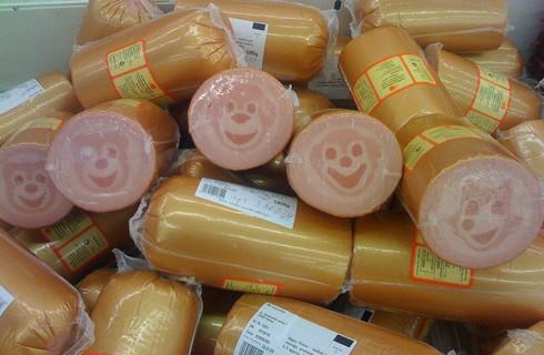 Колбаса с улыбкой