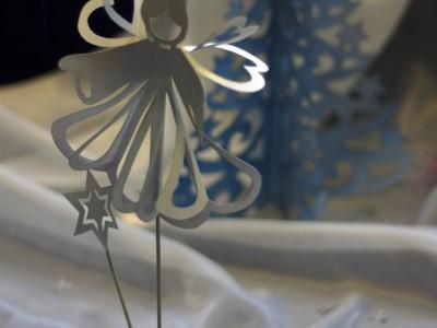 Бумажный ангел. Фото Екатерины Пастуховой