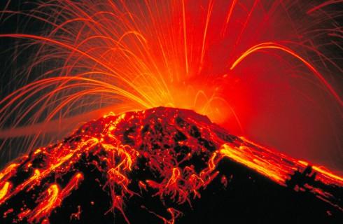 Вулканы — причина вымирания