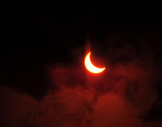 Солнечное затмение уже завтра!