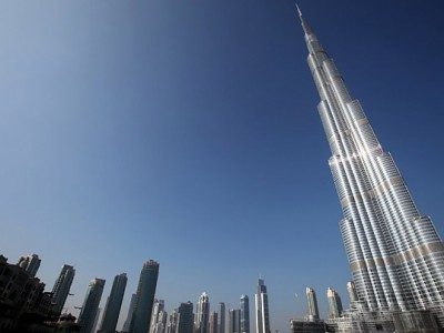 Небоскреб Burj Khalifa, Дубай