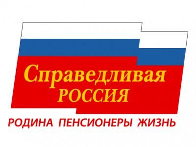 Сегодняшний флаг Справедливой России