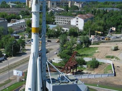 Памятник ракете-носителюСоюз