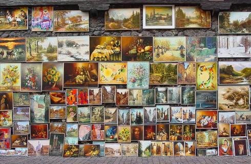 Художественная выставка в Брюсселе