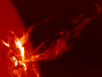 Корональные выбросы массы на Солнце