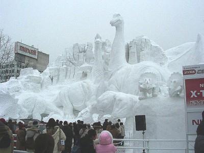 Снежный фестиваль в Саппоро, 2004 год