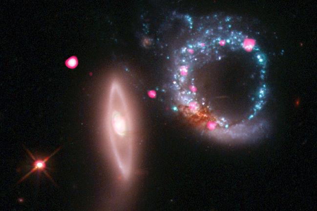 Кольцо из черных дыр