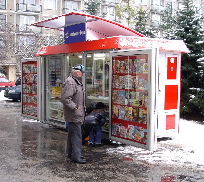 Новая схема размещения киосков в Москве