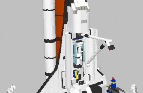 «Лего» теперь в космосе