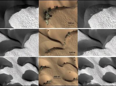 Дюны на Марсе
