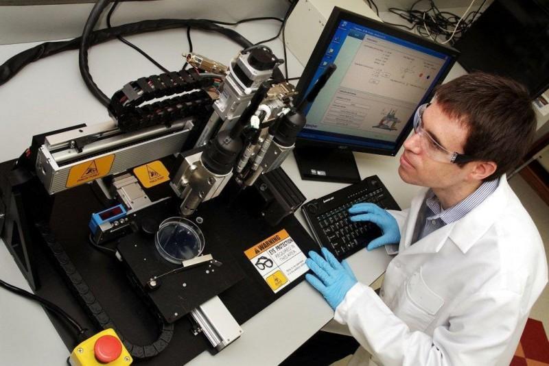 Изобретен «принтер» для печати органов