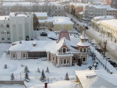 «Снежный город» в Самаре