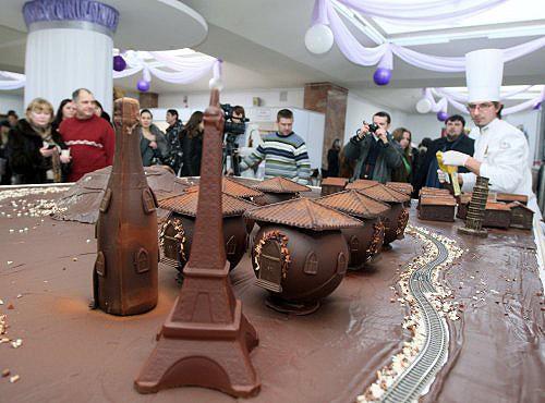 Шоколадный рекорд Украины