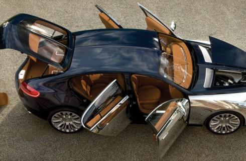 Новый седан от Bugatti
