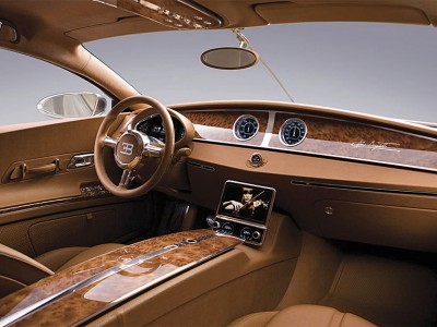 Bugatti Galibier. Салон.