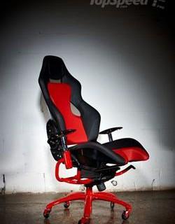 Эксклюзивное офисное кресло от Ferrari
