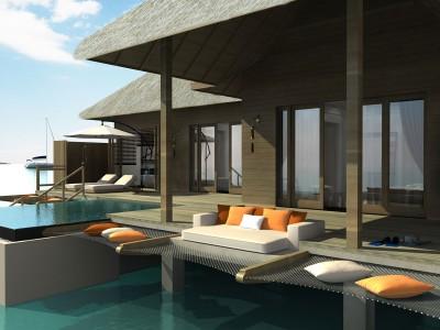 Курорт «Ayada Maldives Hotel» на Мальдивских островах