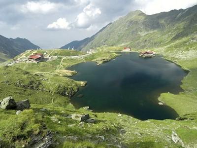 Озеро Балеа в Румынии
