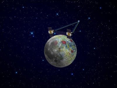 Лунный зонд GRAIL-A