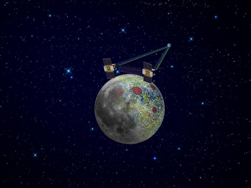 GRAIL-A устремился к Луне