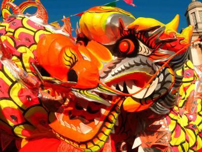 Китайский Новый год. Дракон — символ Китайского нового года.