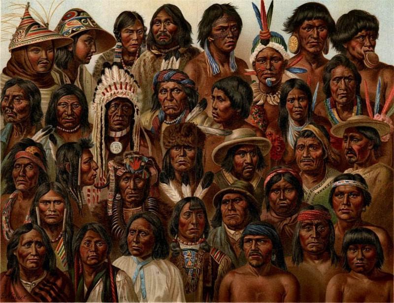 Индейцы родом с Алтая