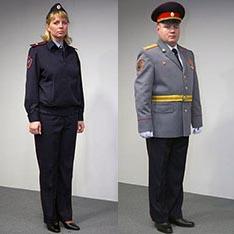 Новая форма полицейских