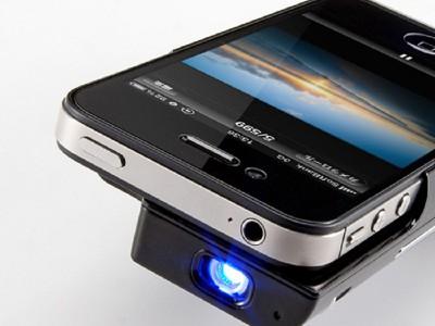 Sanwa Supply 400-PRJ011 — проектор для iPhone 4/4S