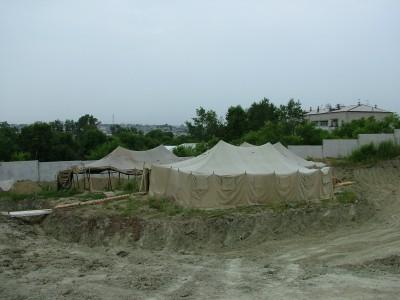 Архиологические раскопки под Пекином