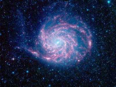 Крупное скопление галактик