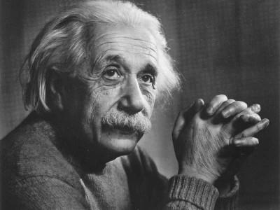 Альберт Эйнштейн — автор теории относительности