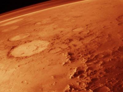 Атмосфера Марса — фото с орбиты