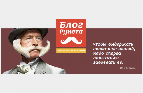 Блог Рунета 2012