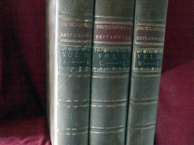 Первый выпуск «Британники» 1768-го года