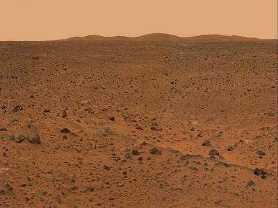 Фотография с поверхности Марса