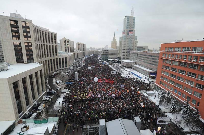 Москва готовится к Митингам