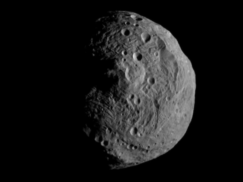 Загадки астероида Веста