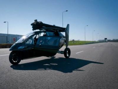 PAL-V в режиме автомобиля