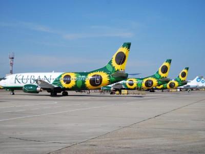 Самолеты авиакомпании «Кубань»