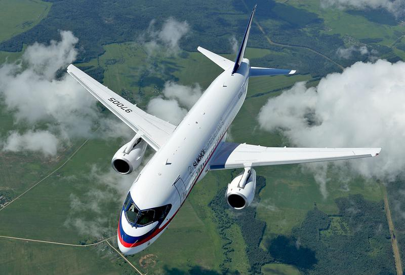 Superjet-100 совершает тур по странам Азии
